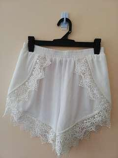 White little one fabric shorts from wildpair