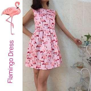 🚚 Flamingo Pink Dress