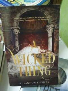 Preloved Book A Wicked Thing