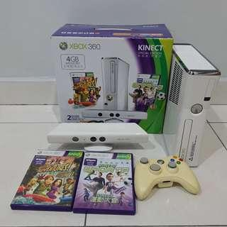[Price reduced] Xbox 360 Special Edition 4GB Kinect Sports Bundle