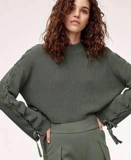 Aritzia Wilfred Salome sweater