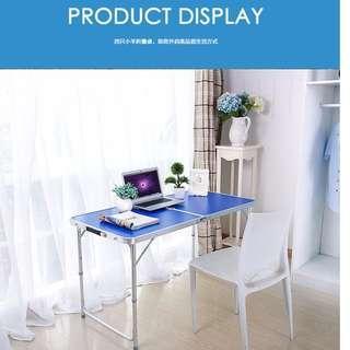 🚚 [SALE] 120 x 60cm Portable Fold-able Aluminum Table