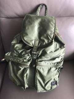 Porter backpack 背囊 綠色