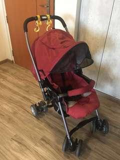 Combi miracle turn baby stroller