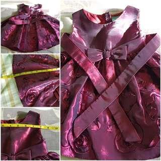 Baby Dress Purple 6mos to 1 year Like New