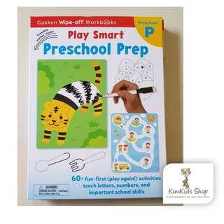Gakken Wipe Clean workbook - Preschool prep