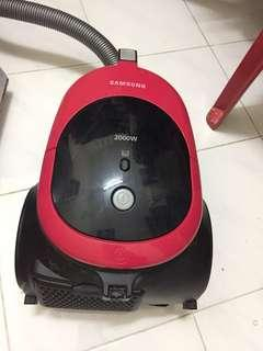 Vacuum samsung high suction 2000W