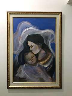 "Painting ""mother and child"""