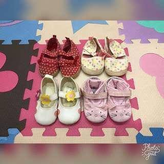 Baby Girl Pre-Walker Shoes Bundle