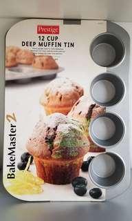 12 cup Deep Muffin Tin 12個鬆餅烤盤