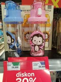 Botol Minum Anak Lock&Lock Pink Baru