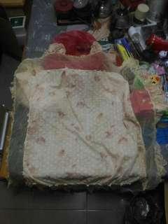 蕾絲方形桌巾(110x110)