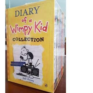 (Brand New) 10 books - Wimpy Kid boxed set