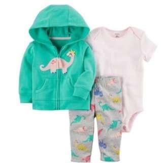 🚚 *24M* BN Carter's 3-Piece Little Jacket Set For Baby Girl