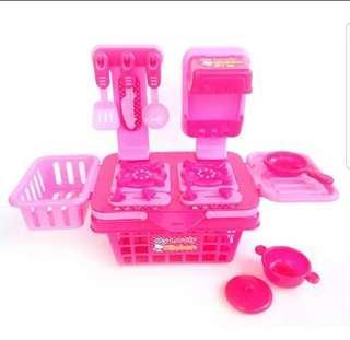 Mainan Masak2an Anak Perempuan My Lovely Kitchen Set