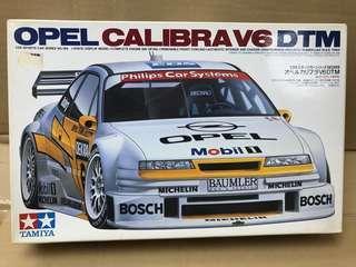 Tamiya 1/24 Opel Calibrate V6 DTM Made in Japan 1995