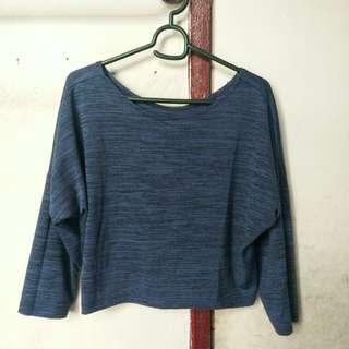 Longsleeves Crop Top
