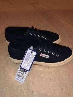 Superga Navy Sneakers