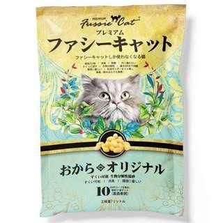 🚚 Fussie Cat Soya Litter 6 packs @ $40