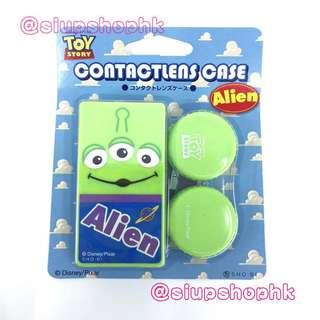 ⭕️12/10 最新上架⭕️ 日本直送 2018秋冬新作 Disney Pixar Toy story Contact-lens Case 反斗奇兵 隱形眼鏡盒 💖Made in Japan💖 ⭕️ ALIEN 三眼仔 ⭕️
