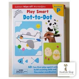 Gakken Wipe Clean Workbook - Dot-to-Dot