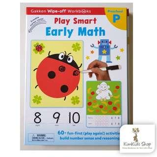 Gakken Wipe Clean workbook- Early Math