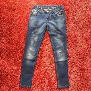 celana jeans chanel