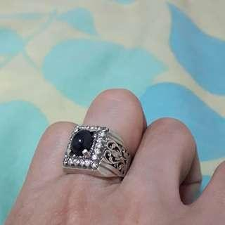 Blue sapphire ring sell at admiralty