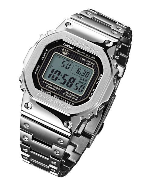 100 Authentic New Casio G Shock Silver Full Metal Bracelet Gmw