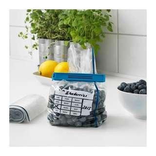 NEW IKEA Set of 50 Small 1L Freezer Bags (Kuala Lumpur)