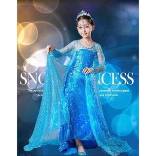 (Pre order)Princess Frozen Fairytale Dress