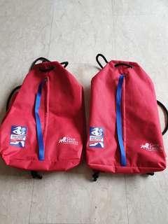 GE wowen run 18 Drawstring Bag