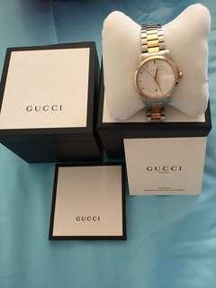 Gucci timeless watch