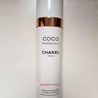 🔴$1 BIDDING⏩Followers only! (Non Followers Buy at $99)🌻❤AUTHENTIC❤ 100ml EDP CHANEL (Chanel) Mademoiselle Perfumed fresh Moisture Mist/ Body Lotion Spray-on💋No Pet No Smoker Clean Hse💋