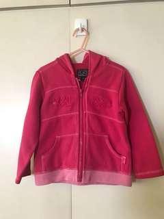 Pink Hooded Jacket