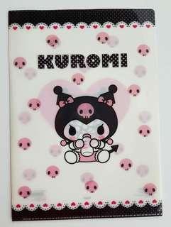 ⚫10% ($10.90) 👫SANRIO ORIGINAL - AUTHENTIC BRAND NEW👫JAPAN Kurumi & My Melody Plastic file folder (Durable & Waterproof material)💋No Pet No Smoker CLEAN Hse💋