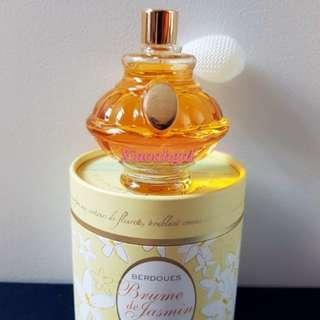 🌈EXCLUSIVE!! AUTHENTIC BRAND NEW🌈🐰80ml EDT FRANCE European Berdoues Bryme de Jasmine Pump Spray Perfume💋No pet No smoker Clean hse💋