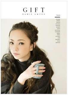 安室奈美惠 Gift 寫真集(新。未拆。送書套。)