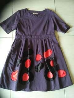 Dress unik Yellowline