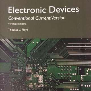 🚚 Electronic Devices 電子學 10/e Floyd 9781292222998 原文書