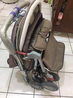 🚚 豪華雙向嬰兒推車