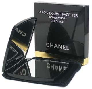 Authentic Luxury Chanel VIP Gift Double Facettes Dual Mirror