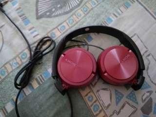 Sony Headphones (Red)