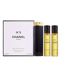 CHANEL NO5 PERFUME TWIST AND SPRAY