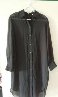 Babaton Chiffon shirt