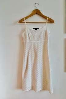 Marc Jacobs White Dress Size 38