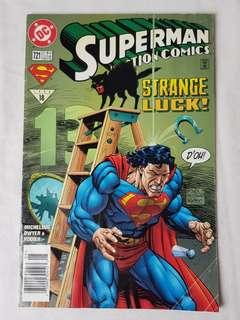 "Vintage Superman ""Strange Luck!"" Comic by DC Comic"