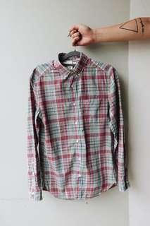 LOGG by H&M Classic Flannel Button Down Shirt
