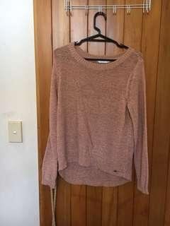 ONLY brand pink knit sweater