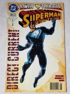 "Vintage Superman ""Power Struggle"" Comic by DC Comic"